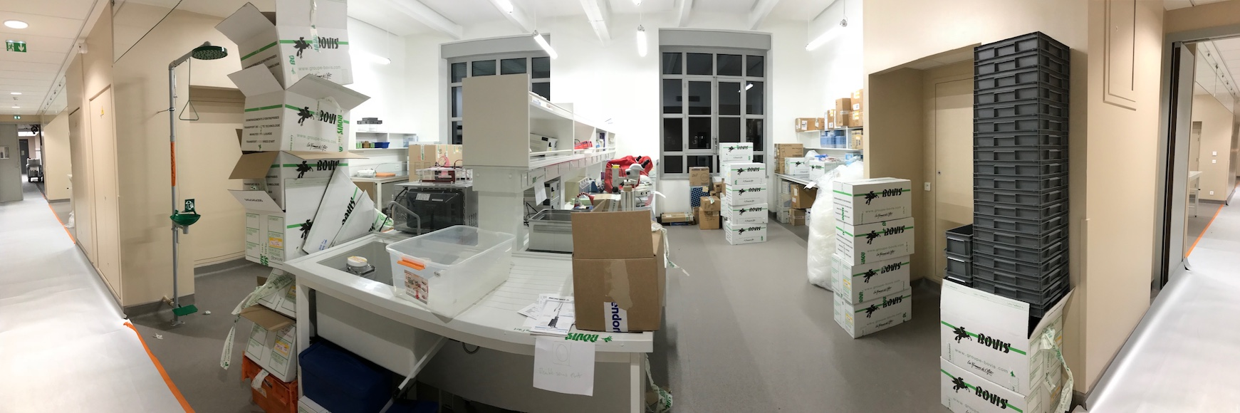 Fresh lab space